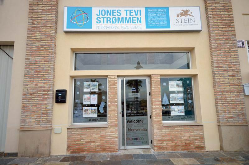 The Jones Tevi Strommen Office in Algorfa, Spain